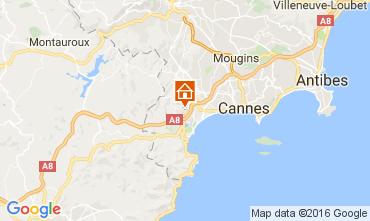 Mappa Mandelieu la Napoule Appartamento 107349