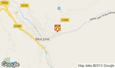 Mappa Morzine Appartamento 101224