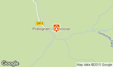 Mappa Pralognan la Vanoise Appartamento 2287