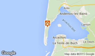 Mappa Cap Ferret Villa  80533