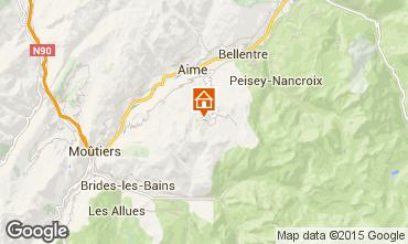 Mappa La Plagne Monolocale 59172