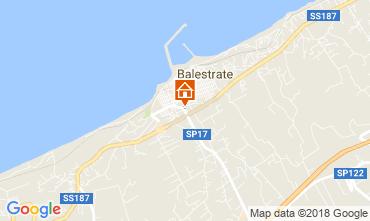 Mappa Balestrate Villa  115260