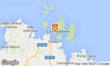 Mappa La Maddalena Appartamento 33485