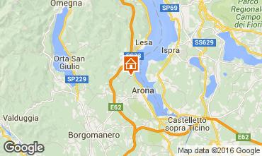 Mappa Arona Casa 100694