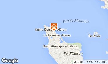 Mappa Saint Denis d'Oléron Casa mobile 92090