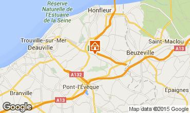 Mappa Deauville B&B insolito 72038