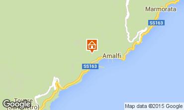 Mappa Amalfi B&B 92867