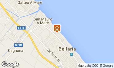 Mappa Bellaria Igea Marina Appartamento 81740