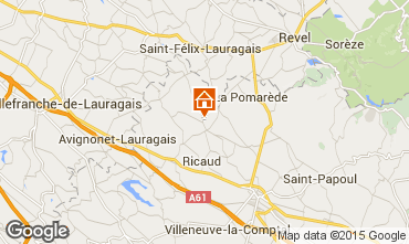 Mappa Carcassonne Agriturismo 84754