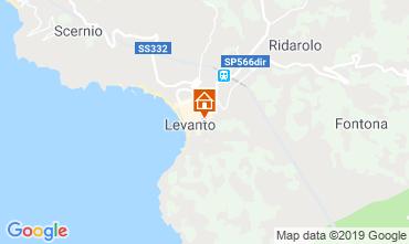 Mappa Levanto Appartamento 117324