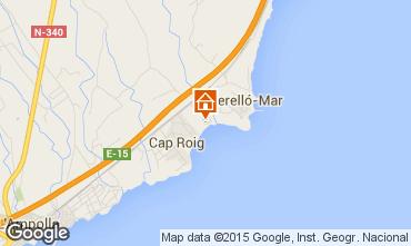 Mappa L'ampolla Villa  94907