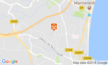 Mappa Antibes Appartamento 113971
