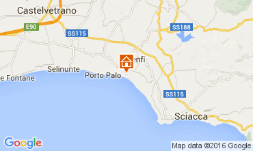Mappa Menfi Appartamento 97584