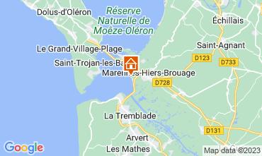 Mappa Marennes Casa mobile 30540