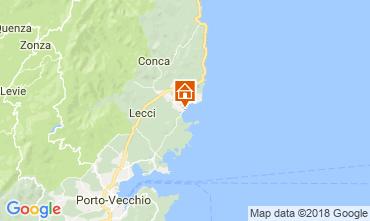 Mappa Sainte Lucie de Porto Vecchio Casa 114349
