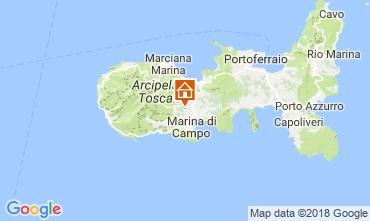 Mappa Campo nell'Elba Appartamento 115069