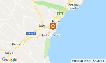 Mappa Noto Villa  117431