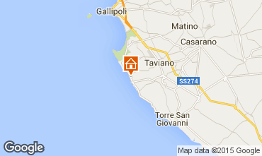 Mappa Gallipoli Casa 61492