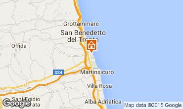 Mappa San Benedetto del Tronto Appartamento 95295