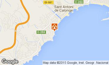 Mappa Sant Antoni de Calonge Appartamento 98168