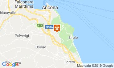 Mappa Sirolo Appartamento 110930