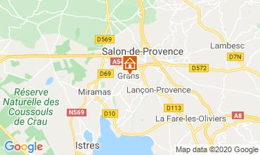 Mappa Salon de Provence Agriturismo 12967