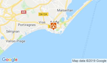 Mappa Agde Casa mobile 117878