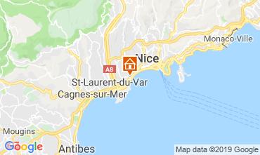 Mappa Nizza Appartamento 52742