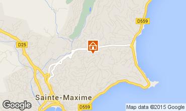 Mappa Sainte Maxime Villa  5713