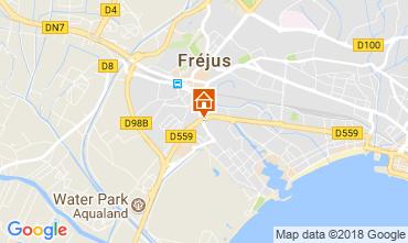 Mappa Fréjus Monolocale 105544