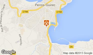 Mappa Perros-Guirec Casa 77846