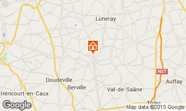 Mappa Saint Valéry en Caux Casa 11925