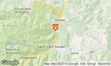 Mappa Saint Lary Soulan Casa 102631