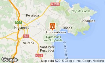 Mappa Empuriabrava Villa  60583