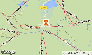 Mappa Tignes Monolocale 65546