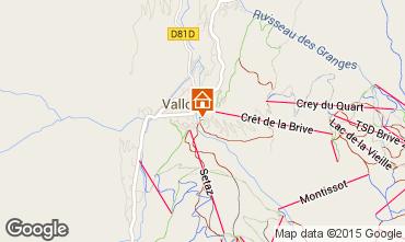 Mappa Valloire Chalet 81297