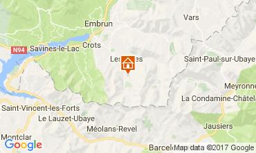 Mappa Les Orres Monolocale 66912