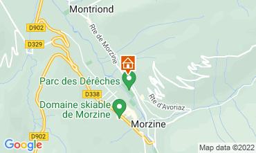 Mappa Morzine Chalet 76329