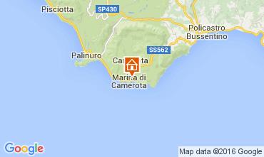 Mappa Marina di Camerota Appartamento 77794