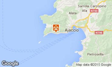 Mappa Ajaccio Appartamento 7850