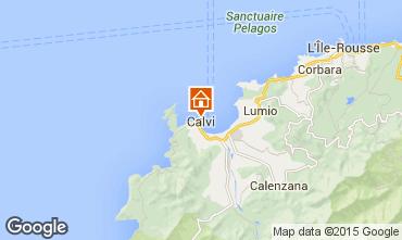 Mappa Calvi Monolocale 85474