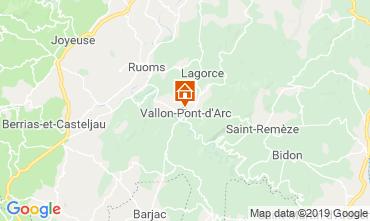 Mappa Vallon-Pont-D'Arc Appartamento 32319