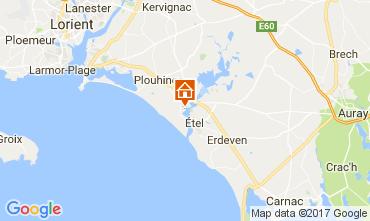 Mappa Plouhinec (Morbihan) Casa 110475