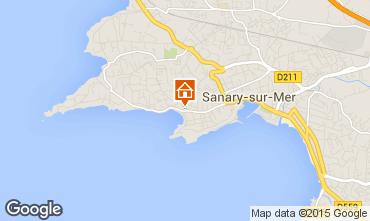 Mappa Sanary Appartamento 63327