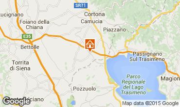 Mappa Cortona Casa 79432