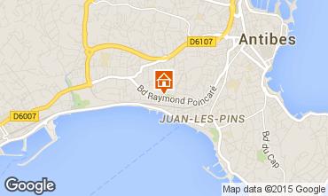 Mappa Juan les Pins Appartamento 68767