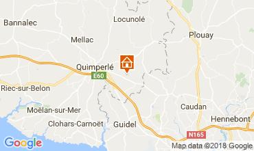 Mappa Quimperlé Agriturismo 115151