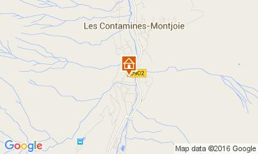 Mappa Les Contamines Montjoie Chalet 105403