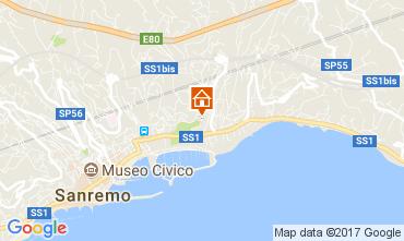 Mappa Sanremo Appartamento 111329