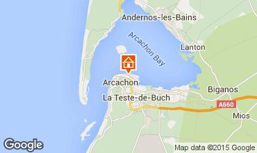 Mappa Arcachon Monolocale 81586